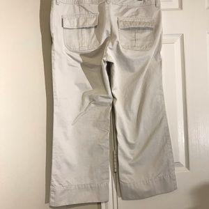 Old Navy Pants - Old Navy Low Rise wide leg Capri bottom